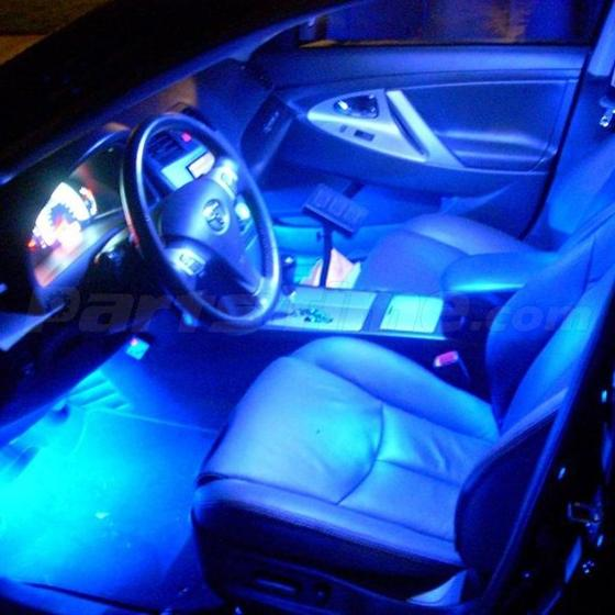 8x ultra blue led lights interior package deal for lexus is250 2006 2012 ebay