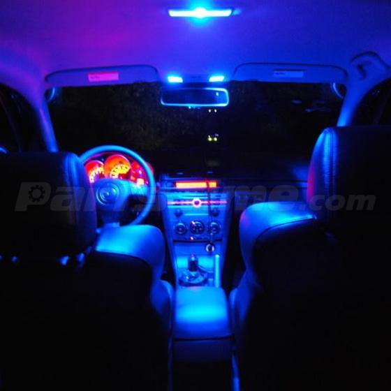 New 7 Xenon Blue Led Lights Interior Package Kit Fits For Mazda 3 Hatchback Ebay