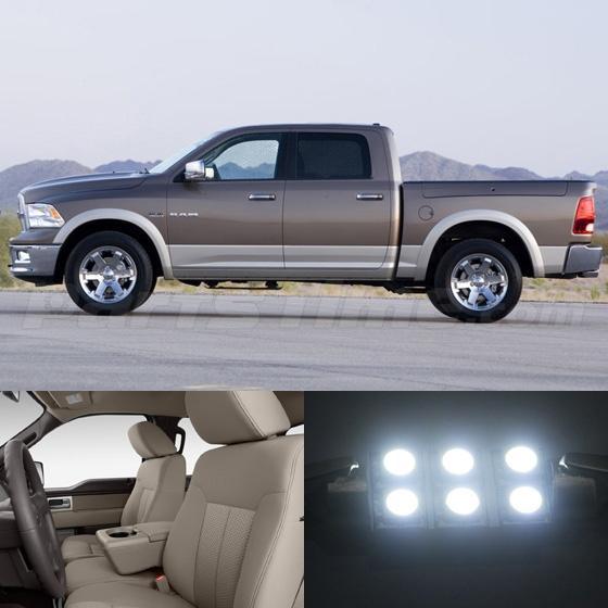Bright White Led Interior Package Light For Dodge Ram 1500