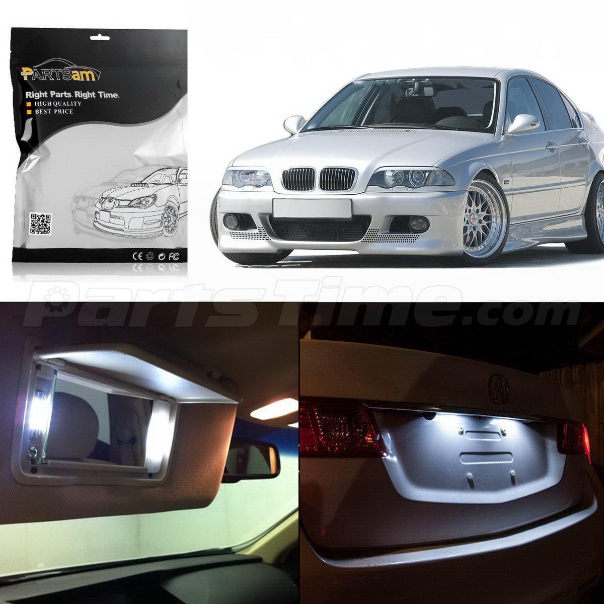 Bmw Xi 2006: 16 White Interior LED Light Package Full Set Lamp For BMW