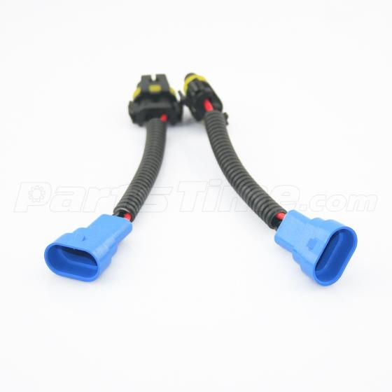 9145 h10 9005 hb3 extension connector wiring harness sockets wire 9145 h10 9005 hb3 extension connector wiring harness sockets wire for headlights