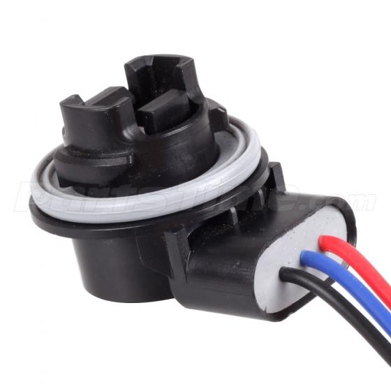 2 Units Of 3057 3157 3357 Light Bulb Socket  Harness With 3
