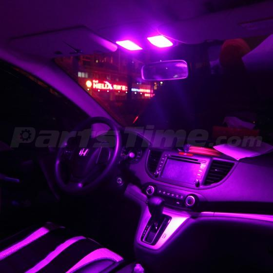 Pink Led Light Interior Package Kit For 1998 2002 Honda Accord Sedan W Free Tool