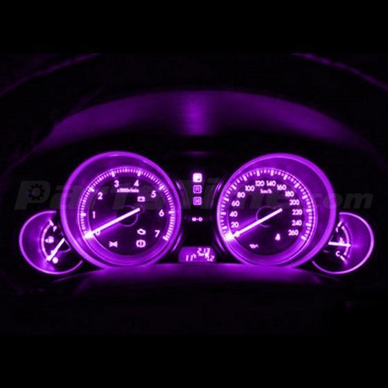 20x Pink Purple Gauge Instrument Cluster Speedometer Dash