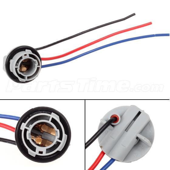 2x 1157 1158 2057 2357 Plug Wiring Harness Sockets For