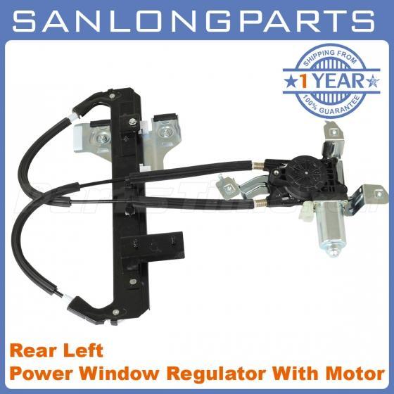 Rear power window regulator w motor left side lh for for 2002 tahoe window motor