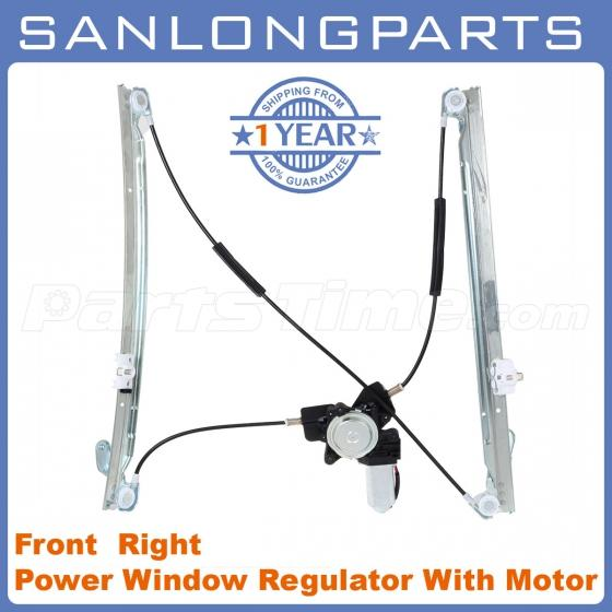 Power window regulator w motor rh passenger side for 01 03 for 2001 dodge grand caravan power window regulator