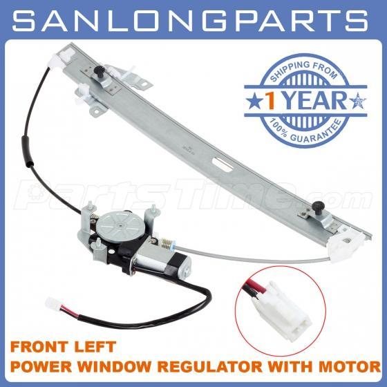 Front power window regulator w motor driver side fits 00 for 2000 mazda mpv window regulator