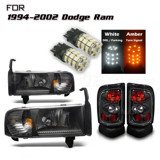 on 2001 Dodge Ram Sport Headlight Bulbs