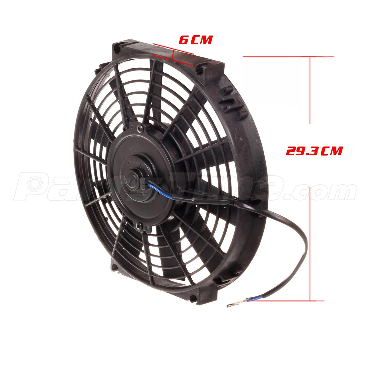 10 inch cooling fan with 200 degree thermostat wiring 50 amp relay kit ebay - Four 200 degres thermostat ...