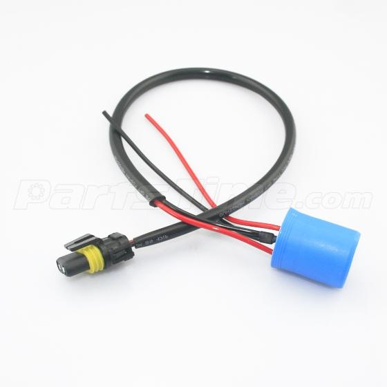 2x9007 9004 to 9006 extension power wire w plug harness. Black Bedroom Furniture Sets. Home Design Ideas