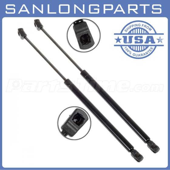 Qty 2 rear window gas charged lift support struts for for 2002 ford explorer back window glass