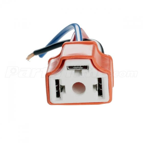 mitsubishi eclipse headlight wiring harness mitsubishi set 2 h4 9003 ceramic wiring harness connector socket for car on mitsubishi eclipse headlight wiring