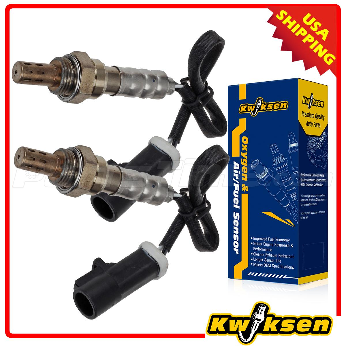 2pcs upstream amp downstream o2 oxygen sensor for 2000 2004 ford 2pcs upstream downstream o2 oxygen sensor for 2000 2004 ford focus 2 0l