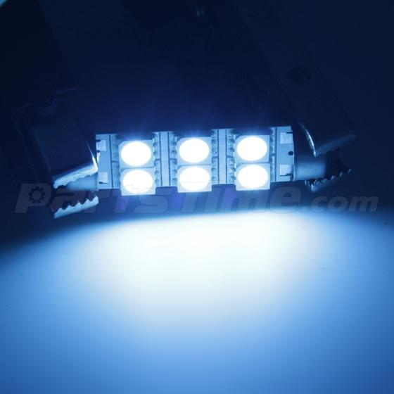 set of 7 combo led interior light for chevrolet impala 2006 13 ice blue ebay. Black Bedroom Furniture Sets. Home Design Ideas