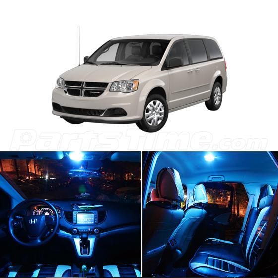 11x Ice Blue Led Interior Dome Light Package Kit For Dodge Grand Caravan 2008 15 Ebay
