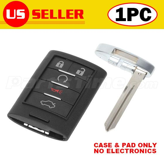 Replacement Key Shell Fit For CADILLAC Smart Remote Key