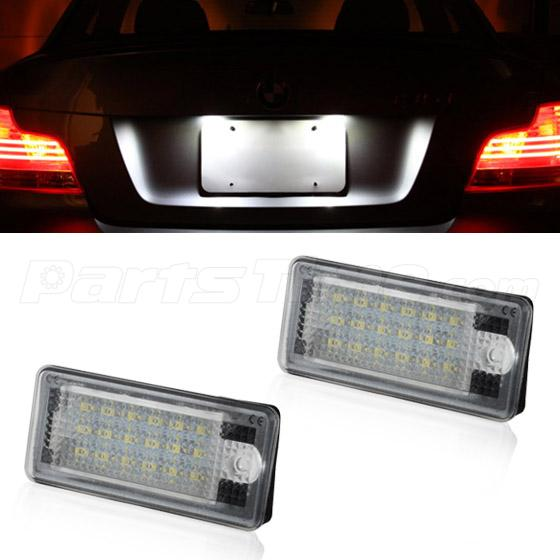 1 set usa xenon white led license plate light replacement. Black Bedroom Furniture Sets. Home Design Ideas