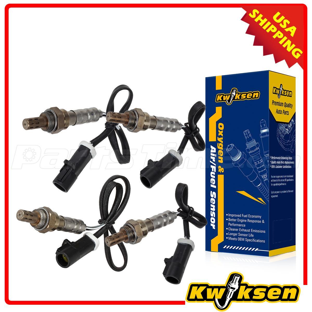 pcs oxygen o sensor upstream amp downstream for  4pcs oxygen o2 sensor upstream downstream for 99 00 01 02 03 ford f 150