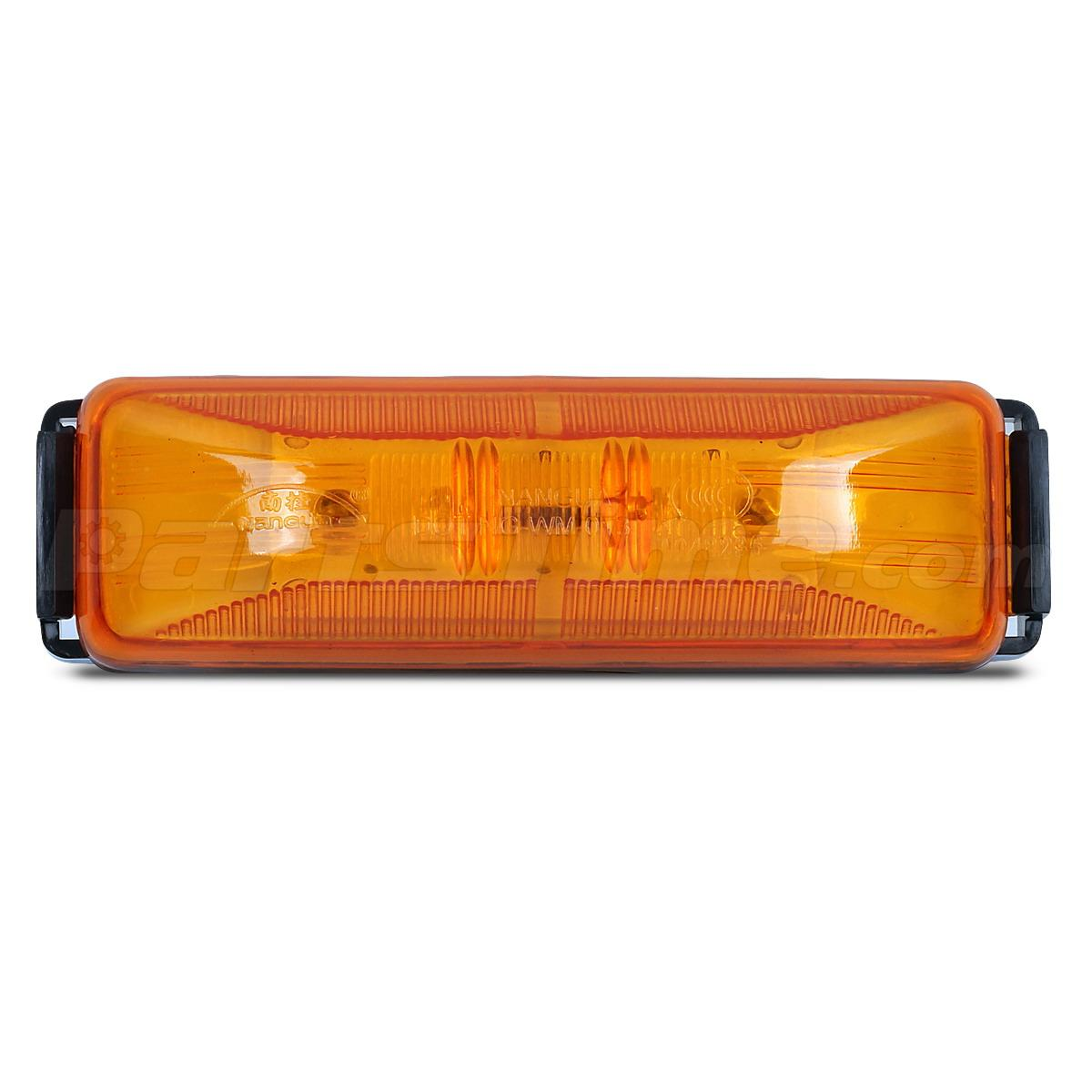 4  Trailer Marker Clearance Light Rectangle Amber 3 3  4