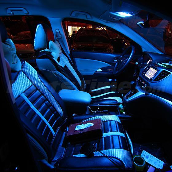 Kia Soul Interior Lights 10x Duluxe Ice Blue LE...