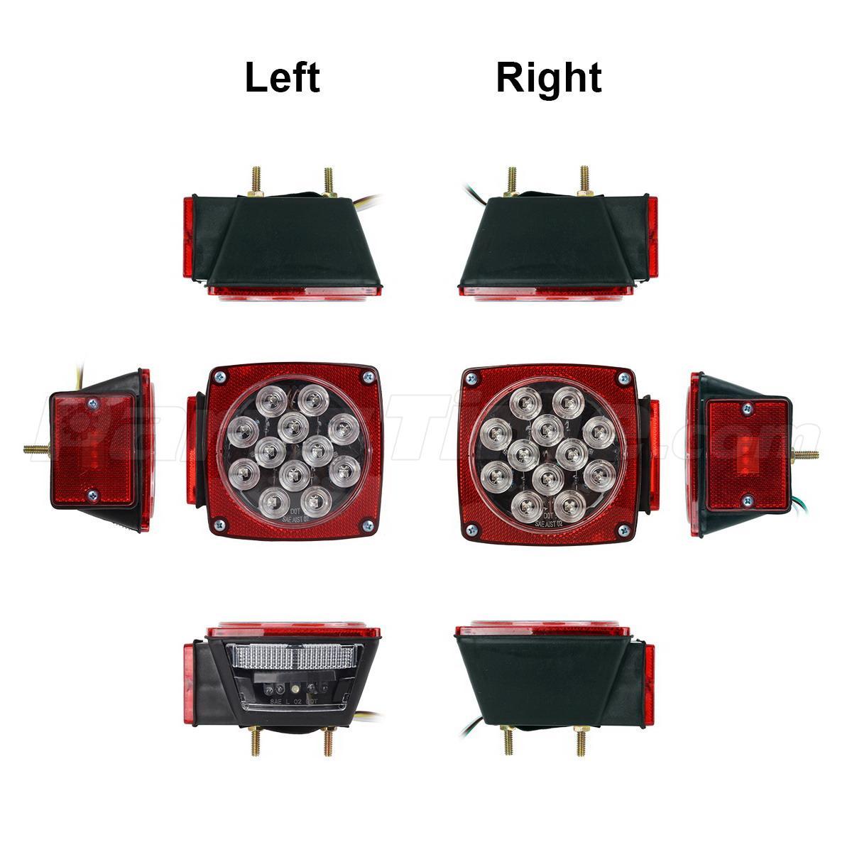 Snowmobile trailer running lights not working / Bivash academy of ...