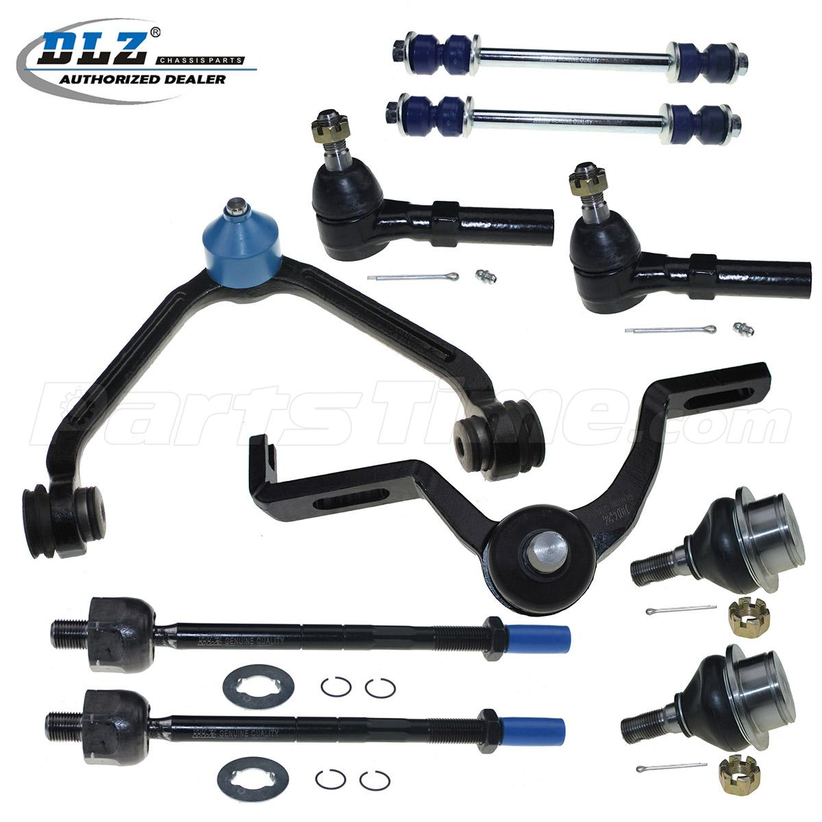 2004 Mercury Mountaineer Suspension: New Suspension Front Control Arm Tie Rod End Kit Set For