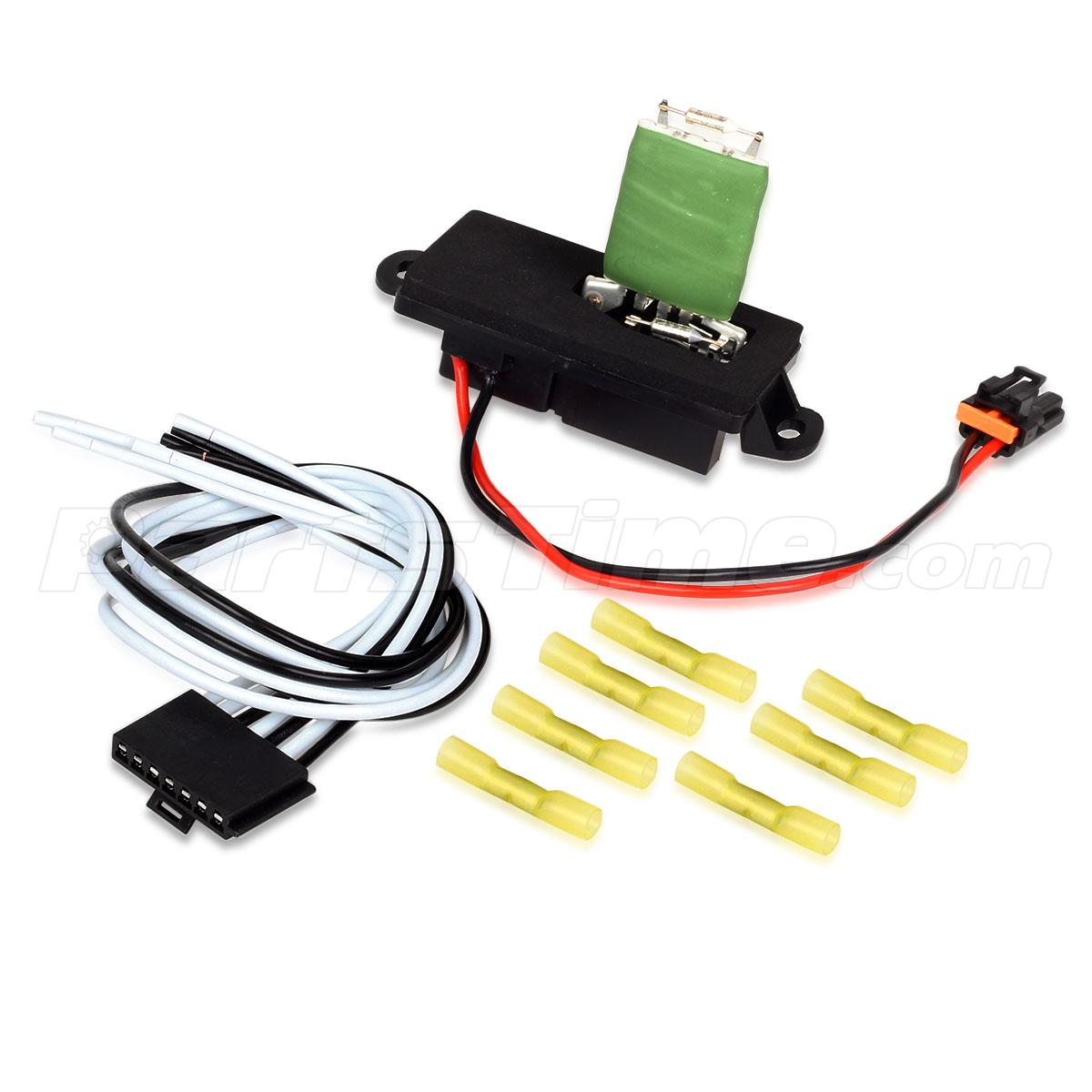hvac blower harness hvac blower motor resistor w/ wire harness for cadillac chevy gmc # 15305077 | ebay