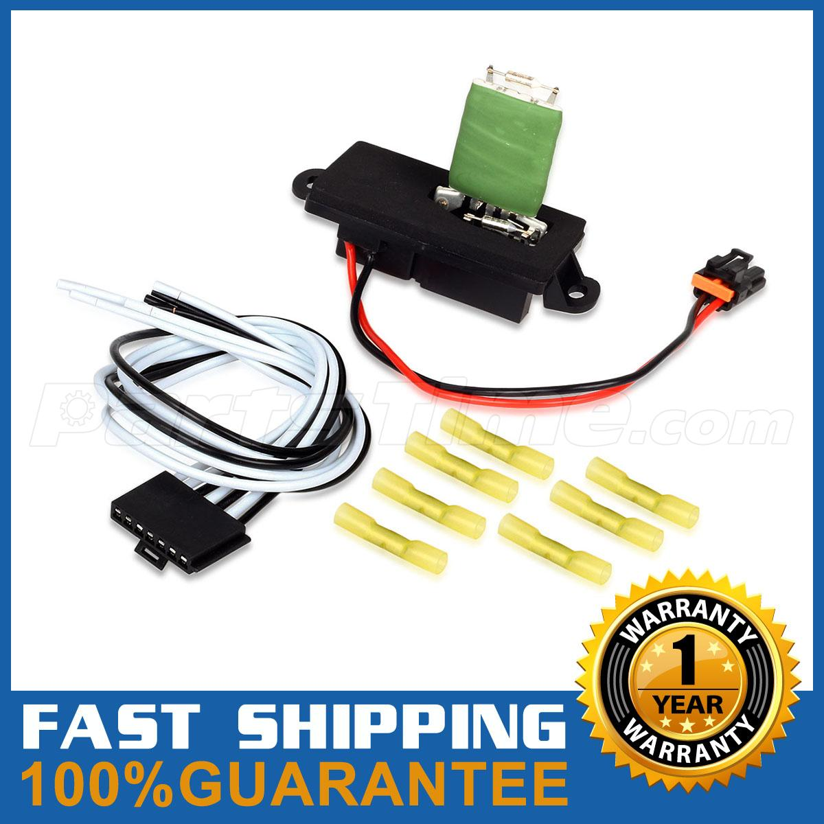 blower motor resistor harness hvac blower motor resistor w wire harness for cadillac chevy gmc 15305077