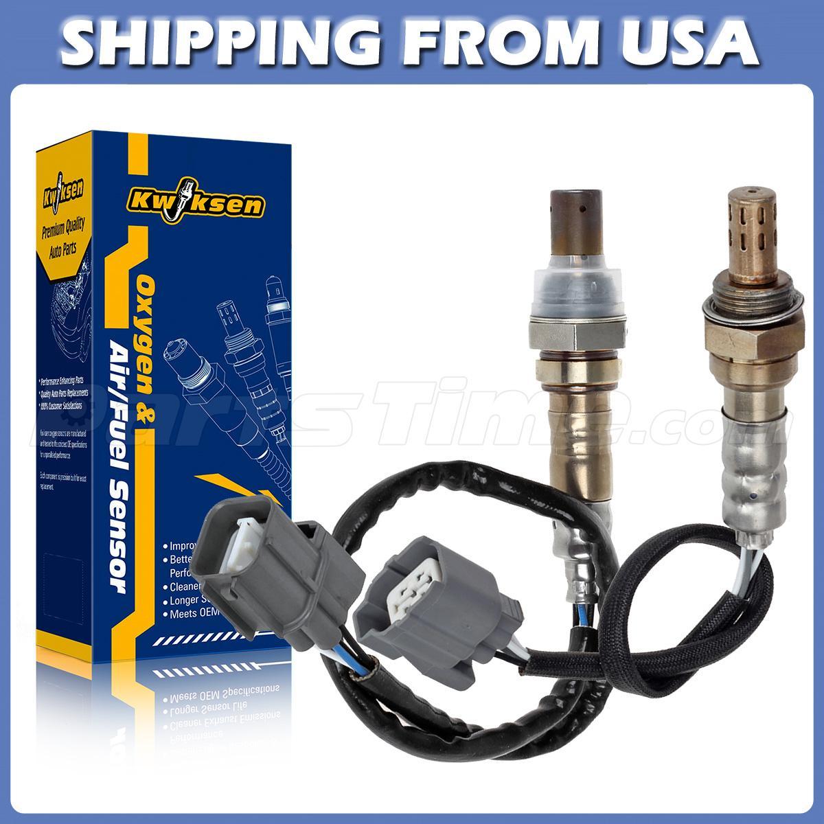 2x Air Fuel Ratio Oxygen Sensor Upper & Under For 02 03 04